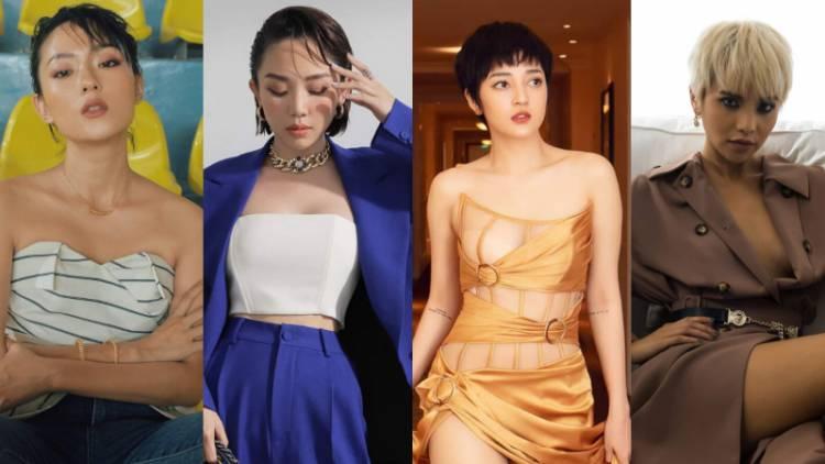 """Không ít những gương mặt mỹ nhân Việt tỏa sáng sau khi """"lột xác"""" với mái tóc tém cá tính"""